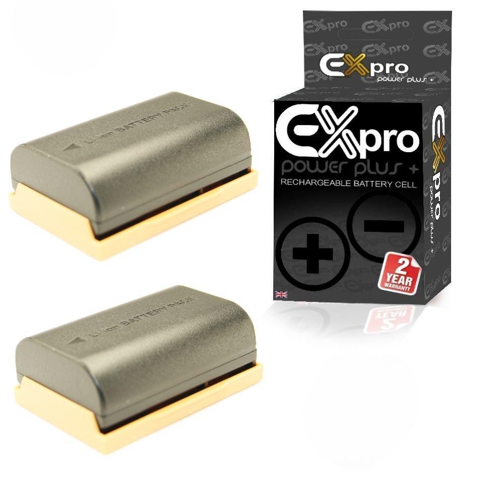 EX-Pro Canon LP-E6, LP E6, LPE6, 3347B001AA, ProPower Elite Alta Capacidad 2200 mAh de Ion de Litio batería para cámara Digital Canon [Ver descripción para Modelos] – [2 Unidades]: Amazon.es: Electrónica