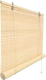 Victoria M. - Persiana de bambú para Interiores, Color Natural, tamaño: 140 x 160 cm