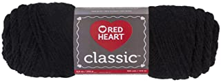 RED HEART Classic Yarn, Black