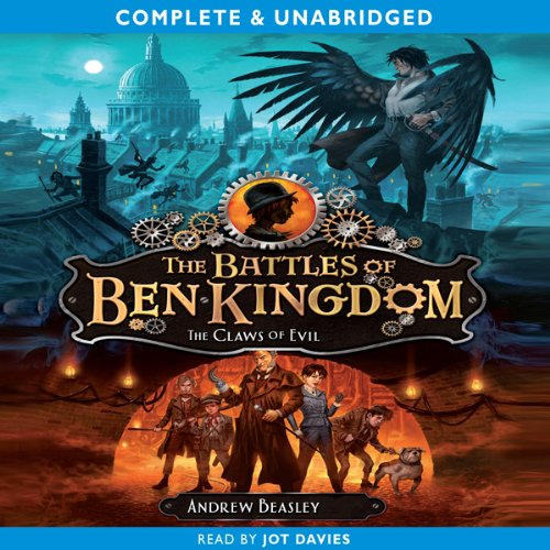 The Battles of Ben Kingdom: The Claws of Evil audiobook cover art