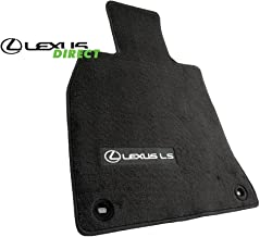 Lexus Genuine Parts PT208-50130-20 OEM LS460 Black 4-Piece Carpet Floor Mat Set, SWB, Short-Wheel Base