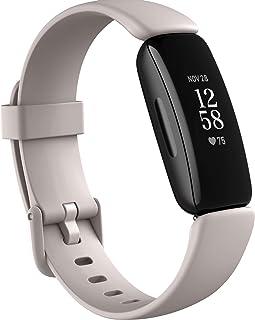 Fitbit Inspire - Aktivitetsarmband för hälsa och träning, Lunar White