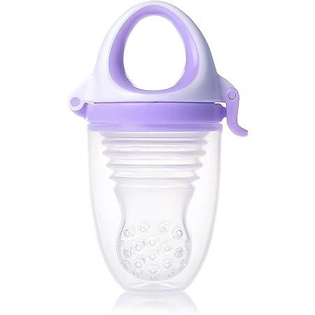 キッズミー 6か月からの離乳食フィーダー モグフィプラス 【日本正規品】 食べる量が増えてきた赤ちゃんに嬉しい大容量タイプ ラベンダー
