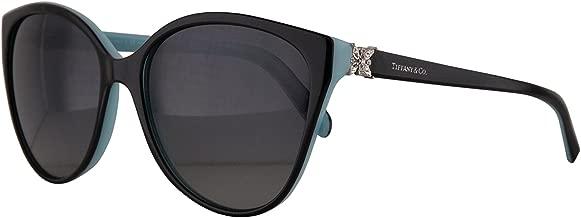 Tiffany & Co. TF4089B Sunglasses Black Blue w/Polarized Grey Gradient Lens 58mm 8055T3 TF4089-B Tiffany&Co. TF 4089B TF 4089-B