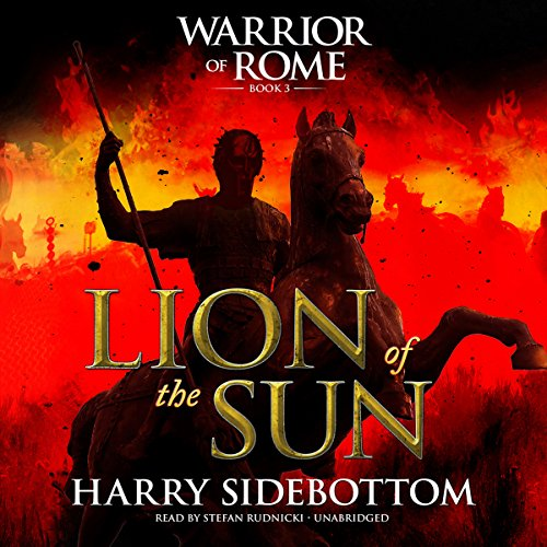 Lion of the Sun audiobook cover art