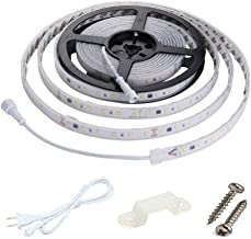 Dimmable LED Strip Lights 4200K Daylight, Work with Smart Plug,120V Dimming by Wall Dimmer, No Driver Need, Waterproof IP65, 16.4ft Under Cabinet Light, Cove Light, Accent Light,