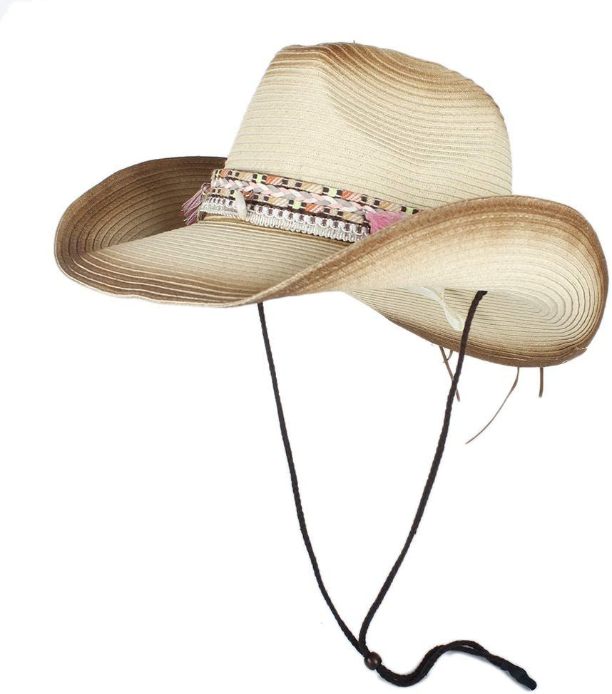 LIRRUI Straw Cowboy Hat Women for Weave Hats Surprise price Handmade Lad Spring new work
