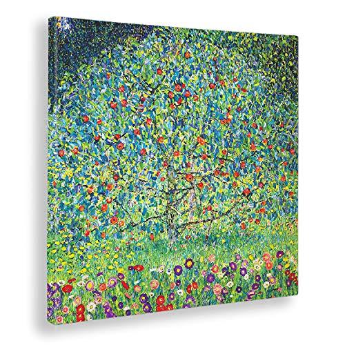 Giallobus - Quadro - Gustav Klimt - Melo I - Stampa su Tela Canvas - Pronto da Appendere - Vari Formati - 50x50 cm