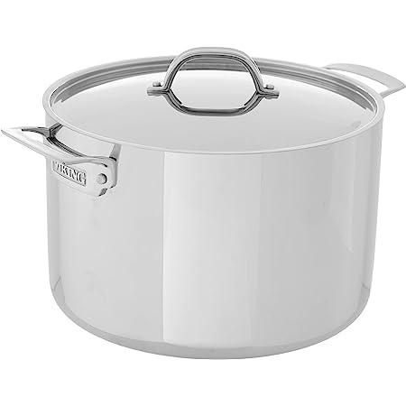 Viking 3-Ply Stainless Steel Stock Pot, 12 Quart