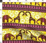Afrikanisch, Tiere, Bogolan, Indigen, Safari, Elefant,