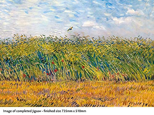 Puzzle 1000 Piezas clementoni Vincent Van Gogh El Campo de C