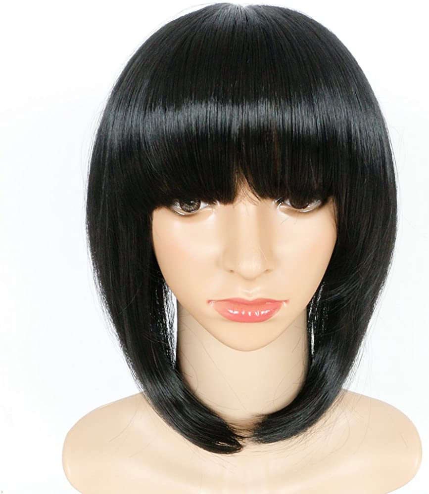 Haironline SEAL limited product Synthetic Straight Short Hair Natural Wigs Cospla Bob Wholesale