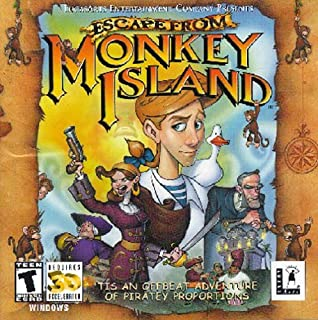 Escape from Monkey Island (Jewel Case) - PC