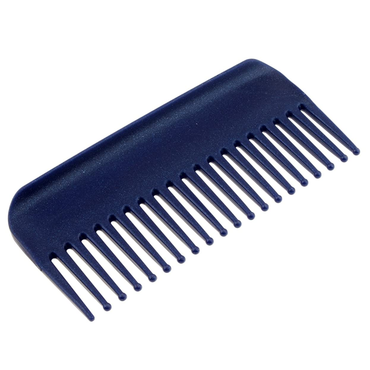政治家吹雪二Perfk ヘアブラシ ヘアコーム コーム 櫛 くし 頭皮 マッサージ 耐熱性 帯電防止 高品質 4色選べる - 青