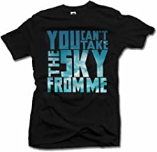 You Can't TAKE The Sky from ME Firefly T-Shirt L Black Men's Tee (6.1oz)