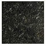 EZ FAUX DECOR Marble Self Adhesive Granite Black Grey Roll Kitchen Countertop Cabinet Furniture Instant Update. Easy to Remove Thick Waterproof PVC Vinyl Laminate Film. Why Paint? (36' X 10ft)
