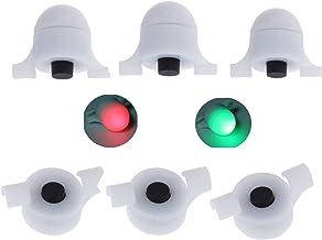 Lemonbest Newest LED Night Fishing Strike Alert Glow Stick Bite Alarm, 3 Packs