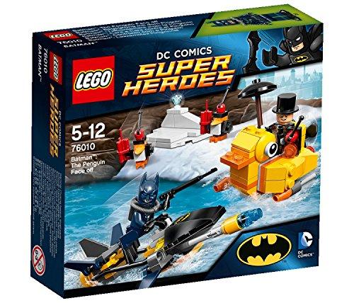 スーパーヒーローズ 76010 バットマン ペンギン フェイスオフ