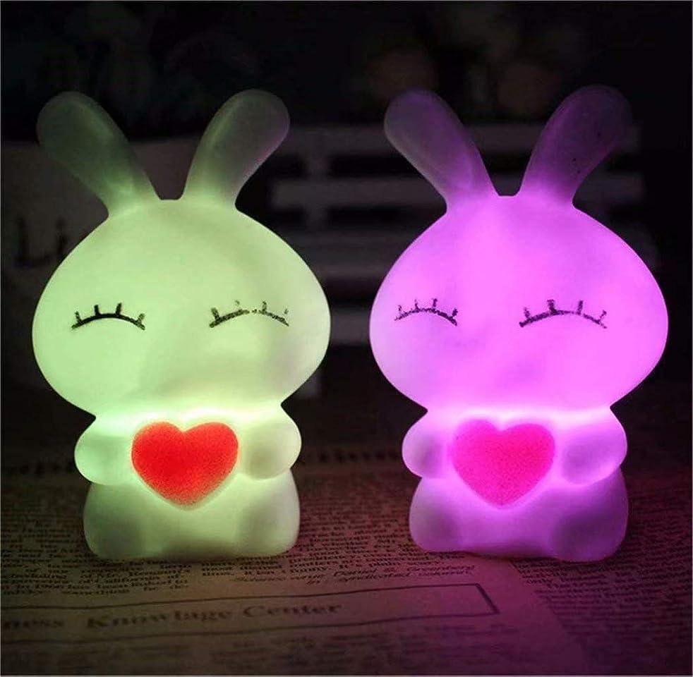 内部申込み単語七里の香 シリコンランプ LEDナイトライト 常夜灯 USB充電 子供用 1PC