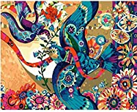 Wooden jigsaw puzzle 500 pieces-Flying bird-Art DIY Leisure Game Fun Toy Gift Suitable Family Friends
