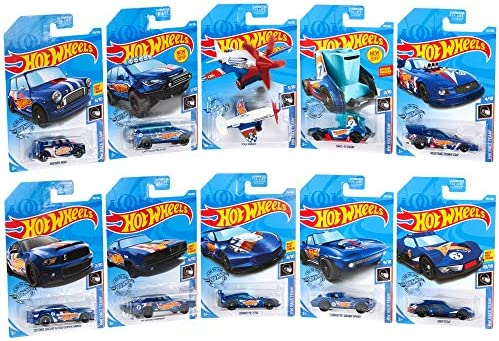 Hot Wheels Mini Collection 10-Pack #1 - Race Day [Amazon Exclusive]