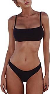 ROVLET 2018 Sexy Push up Padded Brazilian Bikini Set Swimwear Swimsuit Beach Suit Bathing Suits