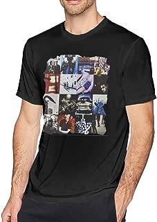 YUIf Men's U2 Achtung Baby Round Neck Style Cotton Short Sleeve Tee