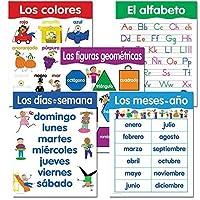 Creative Teaching Press Spanish Basic Skills 5-Chart Pack (5792) [並行輸入品]