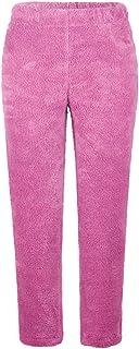 Women's Plush Fleece Pants Winter Comfy Lounge Sleepwear Pyjama Bottoms Trousers