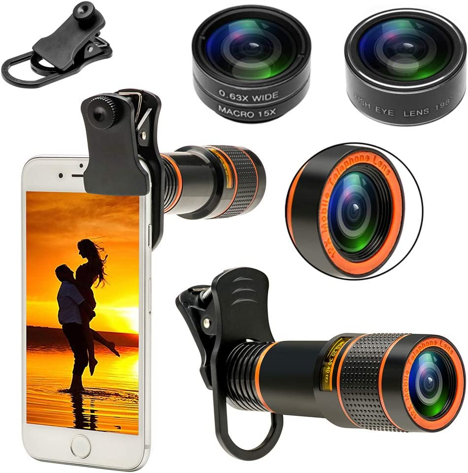 Max 79% OFF Phone Camera Lenses for Smartphone 4 Phoenix Mall Lens 1 Cell in 12 Kit
