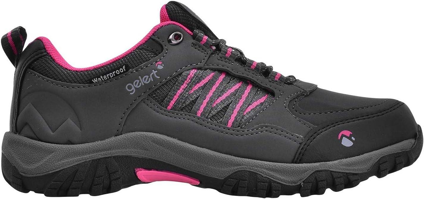 Gelert Kids Horizon Low Waterproof Walking Shoes Trekking