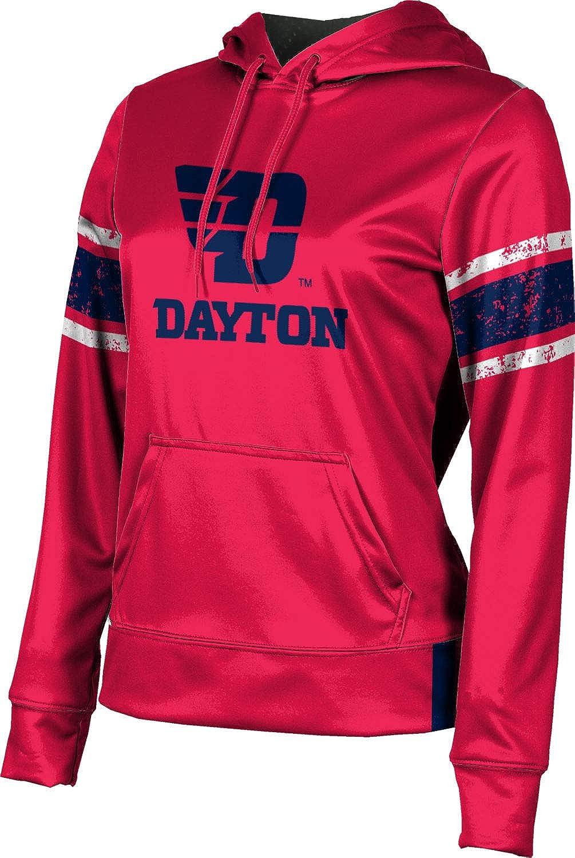 ProSphere University of Dayton Girls' Pullover Hoodie, School Spirit Sweatshirt (End Zone)