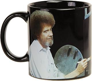Bob Ross Heat Activated Canvas 16 oz. Coffee Mug