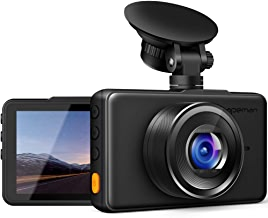 APEMAN Dash Cam 1080P FHD DVR Car Driving Recorder 3inch LCD Screen 170°Wide Angle, G-Sensor, WDR, Parking Monitor, Loop Recording, Motion Detection
