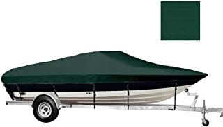 TLSBU 6.25 oz SEMI-Custom Boat Cover for Chris Craft 215 Cuddy Bow Rails I/O 2000-2000
