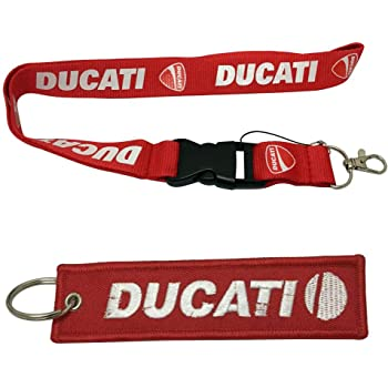 1pc New Rubber PVC Soft Keyring Key Ring Super Bike Moto Motorbike Fit Use For Ducati Corse Biker Italy Fan Itali