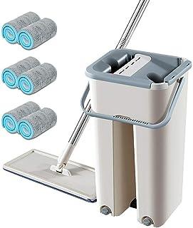 Nettoyage terminé Système de nettoyage du seau de lavage à plat Économie de travail révolutionnaire Balai Pour vadrouille ...
