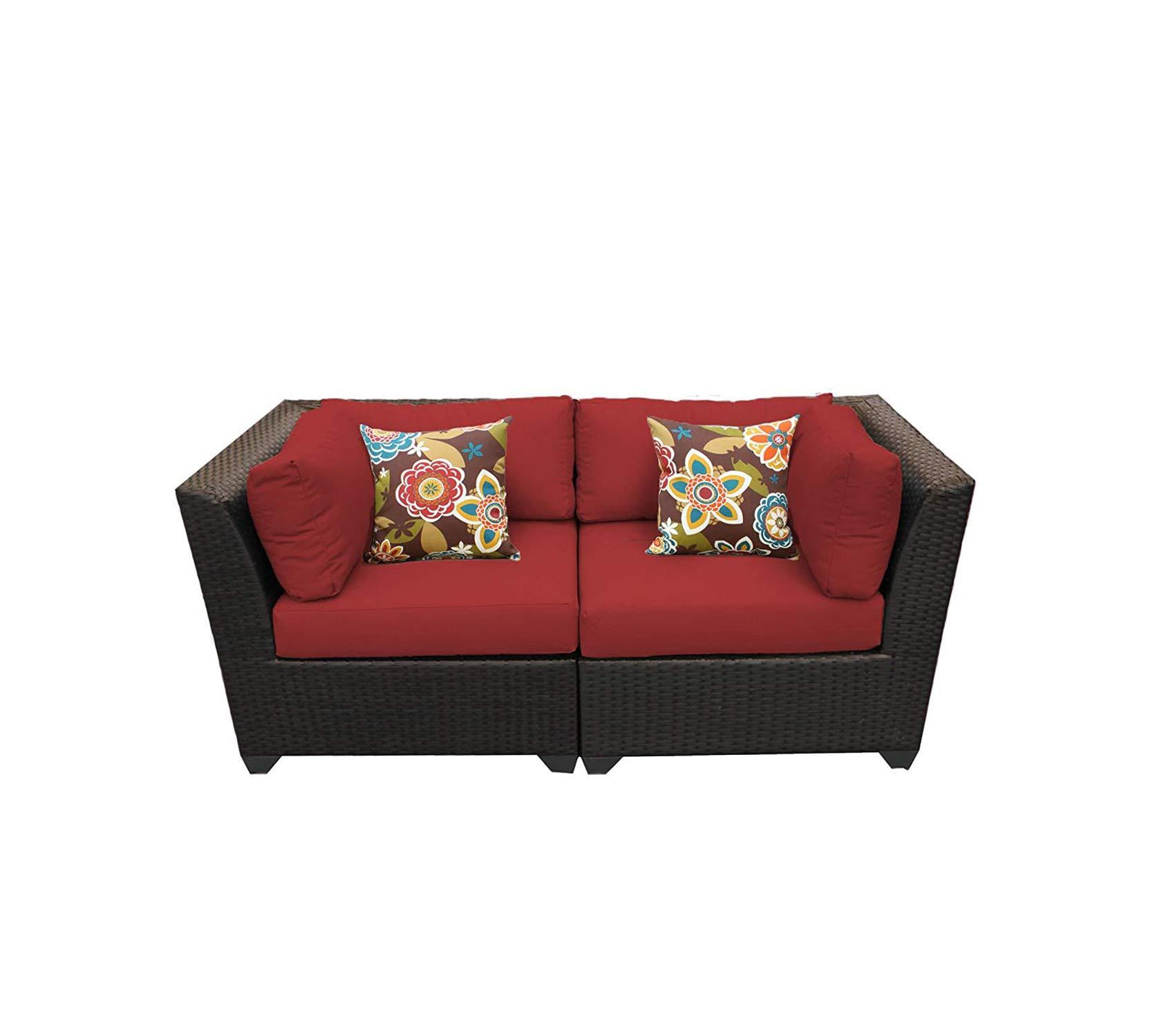 Terra Cotta Colored Patio Chair Cushion Chair Pads