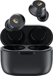 Monster V19D - Auriculares inalámbricos portátiles, mini auriculares Bluetooth in-ear, sonido de bajo inmersivo, IPX5 impe...