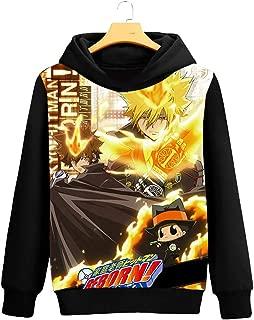 Gumstyle Anime Hitman Reborn Hooded Sweatshirt Adult Cosplay Sportswear Pullovers