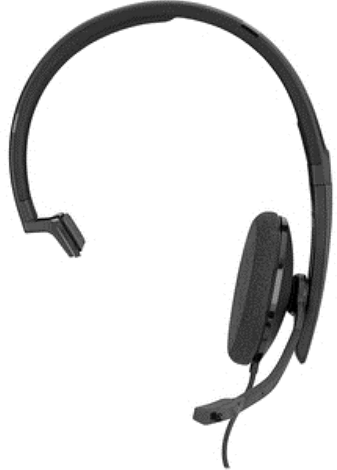 Sennheiser SC 130 USB-C (508353) - Single- Sided (Monaural) Headset for Business Professionals | with HD Stereo Sound, Noise-Canceling Microphone, & USB-C Connector (Black)