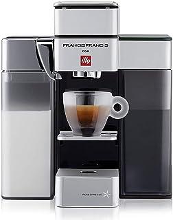 Illy FrancisFrancis! Y5 Milk 60231 Iperespresso - Cafetera con espumador de leche - Espresso & Café - 0,9 L - 1250 W - Col...