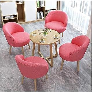 Table de salle à manger, table de salle à manger et chaise combinée pour bureau, réception, loisirs, salon - Convient pour...