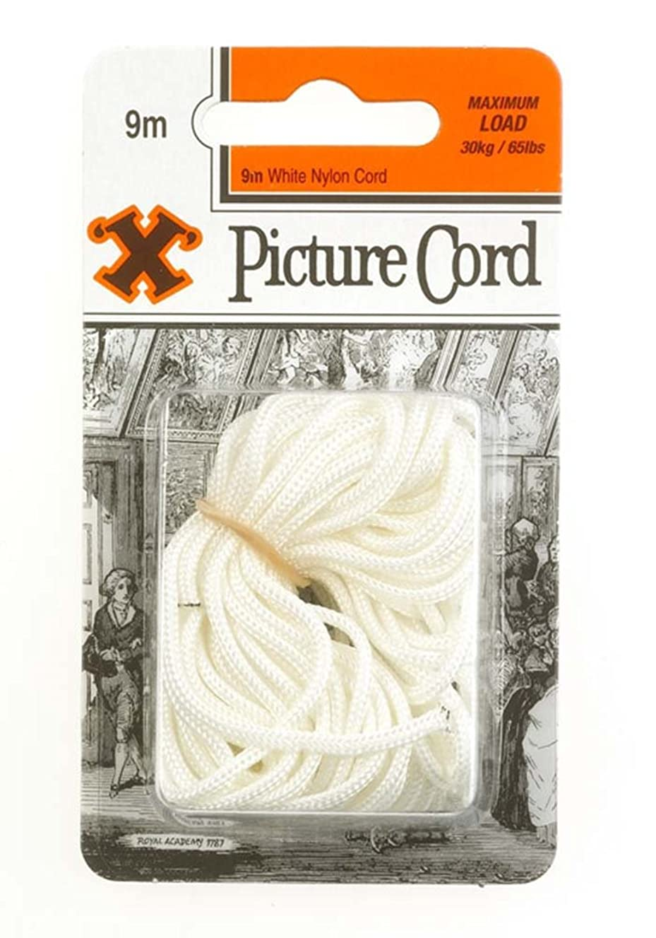 X 9m Picture Cord - White by 'X'