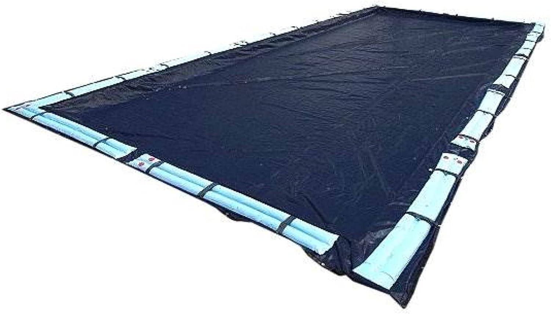 Large discharge sale Deluxe 20x40 Dark Blue Winter Fashionable Rectangular Swimming Pool Inground