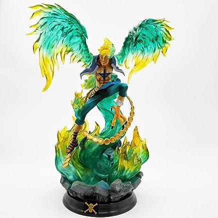アニメワンピースモデル、世俗的な鳥マルコアニメ像子供のおもちゃコレクション像、デスクトップ装飾玩具像(39cm) JSFQ