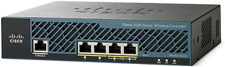 Cisco 2504 AIR-CT2504-5-K9 5 Access Points Wireless LAN Controller