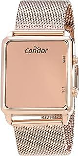 Relógio, Digital, Condor, COMD1202AG/4J, feminino, Rosé