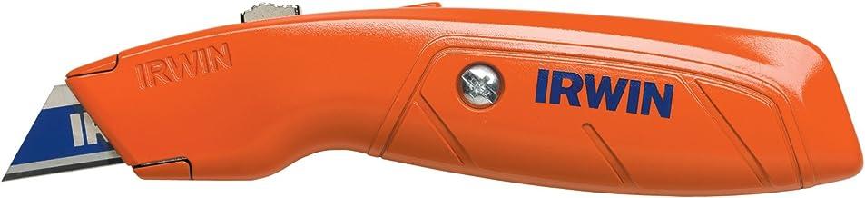 IRWIN Faca utilitária retrátil Hi-Vis, 2082300, laranja