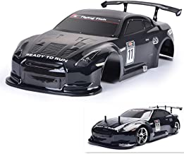 HSP RC Body Shell for HSP Redcat Exceed 1/10 Scale 4wd On-Road Racing Driftwith Stickers